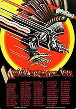 Judas Priest Mundo Vengeance Tour Letrero De Metal (KA) reducido