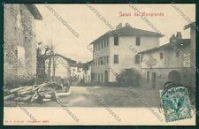 Biella Mongrando cartolina QQ6391