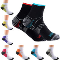 Compression Socks Unisex Plantar Fasciitis Sports Arch Ankle Support NEW S-XL