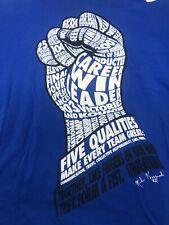 Duke Blue Devils Coach K Fist Career Wins Leader Nike Shirt Medium M