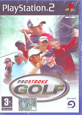 ProStroke Golf (2006) PS2 PAL ITA ORIGINALE NUOVO RISIGILLATO*