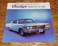 Original 1967 Dodge Monaco & Polara Deluxe Sales Brochure Canadian 67 500