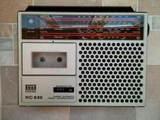 Vintage  ITT Schaub-Lorenz RC 630 CASSETTE STEREO BOOMBOX RADIO