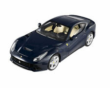 1:18 scale - Hot Wheels ELITE - Ferrari F12 Berlinetta - Blue - Diecast