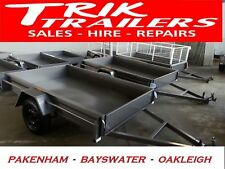 8x5 Heavy Duty  box trailer