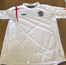 England Home Football Shirt 2005-2007 Umbro *Size Large Adults