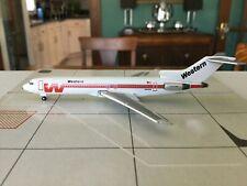 GeminiJets  Western  B727-247  N2812W  GJWAL553  1:400 Scale Diecast Model