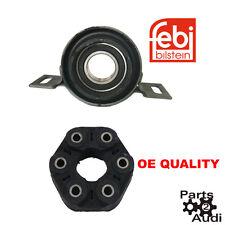 Driveshaft Shaft center Support Bearing Flex Disc Joint  set BMW 325xi 330xi A/T