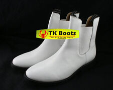 Star Wars Stormtrooper Inspired Custom Leather Boots Size 12 C-Width ON SALE