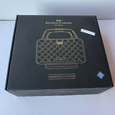 New Kitchen Couture Blue Sandwich Maker Press by Dash Designer Purse Bag
