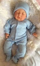 "Realistic 18"" Sleeping Reborn Boy Doll UK Painted Hair Child Friendly, UK"