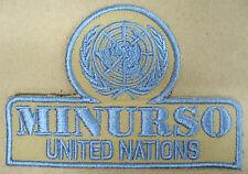 "Toppa/Patch Commemorativa MISSIONE ONU ""MINURSO - WESTERN SAHARA"" - (Rarità)"