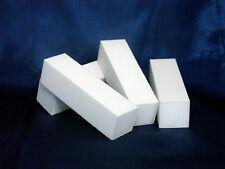 10 BUFFER Schleifblock, weiß + 2 Rosenholzstäbchen
