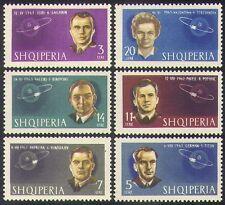 Albania 1963 Gagarin/Tereshkova/TITOV/espacio/astronauta/personas/transporte 6 V n38529
