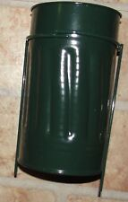1 Metal Urn Can Supply Grave Supplies Cemetery Flowers Ground Floral Containers