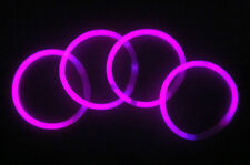200pz. Braccialetti Luminosi StarLight fluorescenti Monocolore ROSA Pink