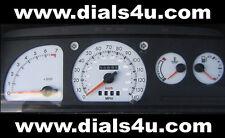 Ford ESCORT Mk4 RS Turbo / Xr3i (1986-1990) - 140mph White Dial Kit