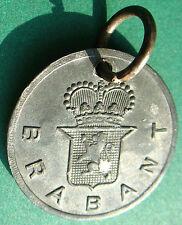 Belgium - old 1933 Brabant - dog tax tag