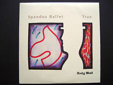 SPANDAU BALLET - TRUE , CD, A THE DAILY MAIL NEWSPAPER PROMOTION (1 CD)