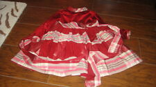 EURO BOUTIQUE LESY LISETTA COSI 2T GORGEOUS PLAID DRESS