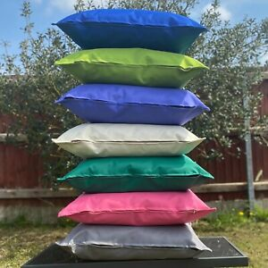 WATERPROOF Cushion Cover For Garden Furniture OUTDOOR Cushions Seat Bench