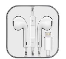 Cuffie Auricolari Universali per iPhone 5/6/7/8/X Connettore 8 pin LIGHTNIN MFI