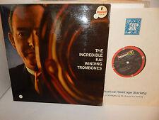 THE INCREDIBLE KAI WINDING TROMBONES 1961 IMPULSE AS-3 RVG GATEFOLD LP