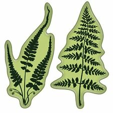 Inkadinkado Rubber Stamps - Ferns - Silver Fern - New Zealand, Kiwi