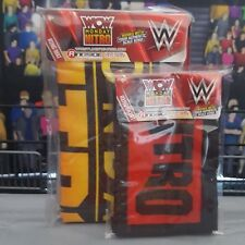 WCW Monday Nitro Mat & Skirt Set - Accessories WWE Mattel Authentic Scale Ring