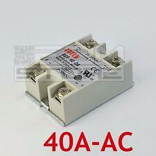 Relè statico 40A AC - 3-32Vdc 24-380Vac SSR-40DA stato solido - ART. EC02