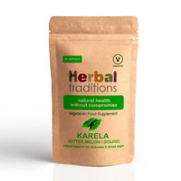 Herbal Traditions Bitter Melon Capsules  - Vegetarian Supplement