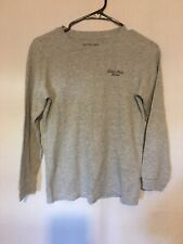 Calvin Klein Girls Size Large Gray Thermal Shirt