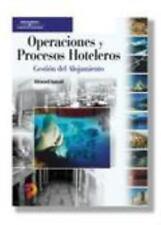Operaciones y Procesos Hoteleros Gestion del Alojamiento / Hotel Sales-ExLibrary