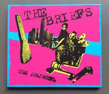 THE BRIEFS - Sex Objects CD VG 2004 14 Tracks Digipak Punk Rock
