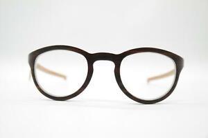W-Eye 304 0164003 Ebony Braun oval Brille Brillengestell eyeglasses Neu