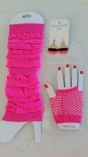 Costume Accessories - 80's (Fluro Pink)