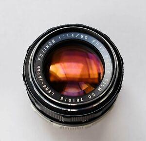 [NEAR MINT] Fujinon 50mm f/1.4 Prime Lens with M42 Screw Mount