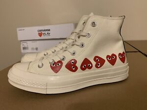 Converse Comme Des Garcons Size 6 Men 8 Women Great Condition 100% Authentic