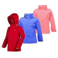 Regatta Greenhill Girls Kids Lined Hooded Waterproof Jacket Coat RRP £40