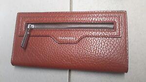 Women's wallet Folding New Brown