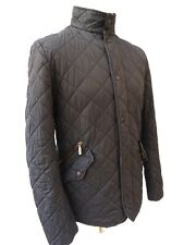 BARBOUR Men's Grey Chelsea Sportsquilt Quilted Jacket Size XS Fit SMALL #4544
