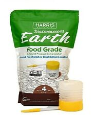 Diatomaceous Earth Food Grade, 4lb - With Powder Duster Included In The Bag