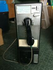 Vintage GTE Automatic Electric PAYPHONE Telephone Booth  **5d