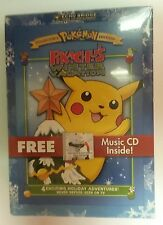 Pokemon - Pikachus Winter Vacation (DVD, 2004, Bonus CD)