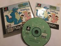PS1 PLAYSTATION 1 PSone GAME DRAGON TALES DRAGON SEEK +BOX INSTRUCTIONS COMPLETE
