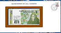 Banknotes of All Nations Ireland 1982 1 pound P 70c UNC Prefix LHG
