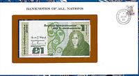 Banknotes of All Nations Ireland 1982 1 pound P 70c UNC Prefix LHG