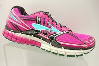 Brooks GTS 14 Pink Athletic Sport Lace Up Running Shoes Women's 10 B