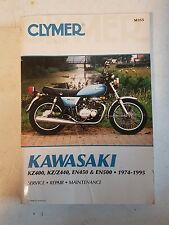 Kawasaki-KZ400, KZ/Z440, EN450 and EN500, 1974-1994 by Clymer Publications Staff