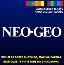 Sticker Vinilo - NEO GEO - Bartop Arcade Pegatina Vinyl Aufkleber Autocollant